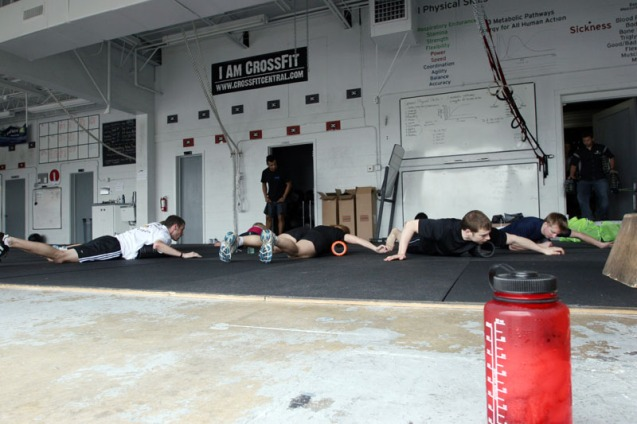 Rolling through the pectoral muscles with The Grid