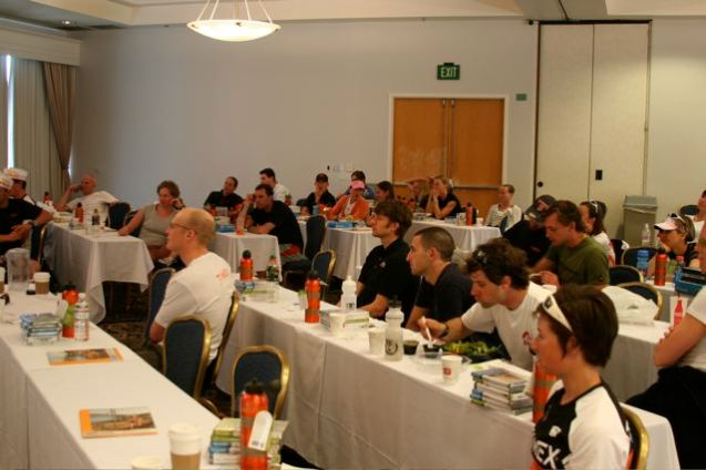 Timex Camp attendees at our ReGen class