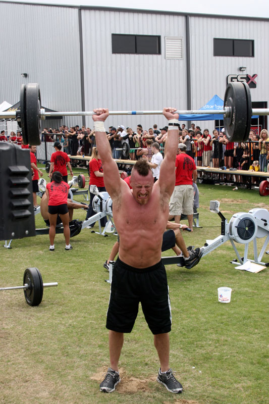 Clean and Jerk with 315+ pounds...