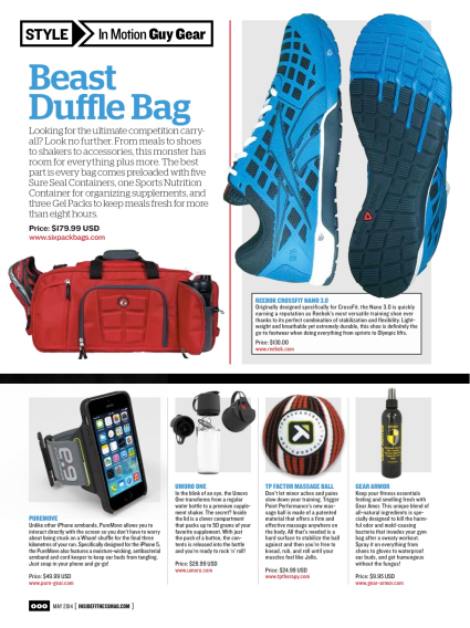 May 2014 Inside Fitness